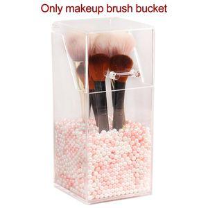 Acrylic Dustproof Makeup Brush Storage Tube With Lid Beauty Eyebrow Pencil Eyeliner Cosmetic Box Boxes & Bins