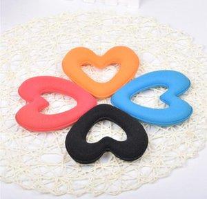 1 PC Cute Heart Shape Tiaras Hair Styling Tool Women Girls Sponge Bract Head Meatball Hair Bun Maker Ring Donut