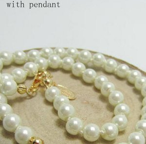 2021 Fashionable Female Necklace Brand Hot Pearl Chain Planet Necklace Saturn Pearl Necklace Satellite Clavicle Chain Punk Atmosphere With Original Box