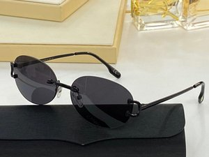 Sunglasses For Men and Women Summer style Anti-Ultraviolet Retro Egg type Plate Frameless Fashion Eyeglasses Random Box 0124