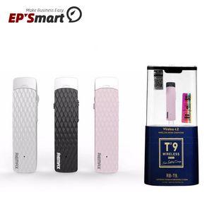 Наушники оригинальные Remax RB-T9 Беспроводные Bluetooth Наушники регулировки громкости Наушные наушники Hear Hourbuds гарнитура для iPhone Samsung