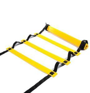ItStyle 8 Rundg 12 pés 4m Futebol Futebol Escada 2mm M 4mm Staircase Agile Fitness Pés Speed Energy Corrida Ladder SQCBNQ Pingtoy