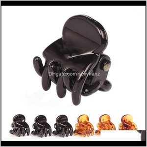 & Jewelry Drop Delivery 2021 120Pcs Black Clips Clipper Clip Barrettes For Women Ladies Plastic 6 Claws Hairpin Headwear Hair Styling Tools F