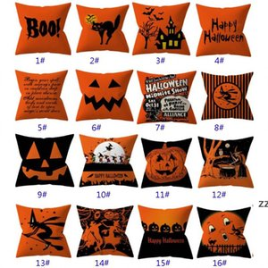 32 Styles Halloween Pillowcases Cover Throw Pillow Cushion Pillow Case Cover For Striped Dot Home Car Decoration Christmas HWB10433