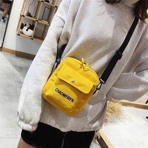 Evening Bags Women Bag Shoulder Chest Printed Cute Wallet Tote Outdoor Multifunction Mobile Phone Canvas Small Coin Purse Crossbag
