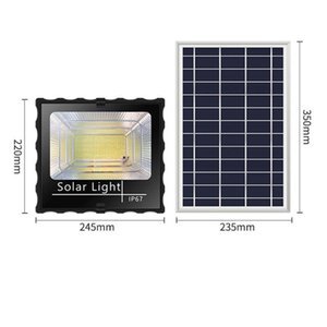 Waterproof IP67 Outdoor Solar LED Garden Yard Wall Lamp 591-LED energy saving Safe stable and reliable