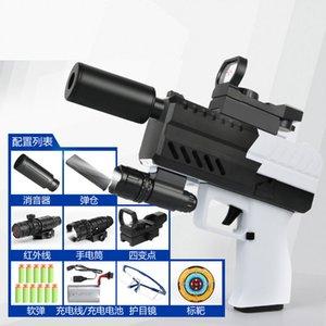 Revólver Pistola Modelo eléctrico Bullet Soft Gun Arma Pistola Blaster Safe Shotgun For Adults Boys Cumpleaños Regalos