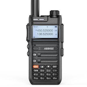 Walkie Talkie Abbree -f5 Automatic Wireless Copy 136-520mhz Long Range Uv-5r Frequency Radio Baofeng Chging Upgrade Usb O4e1