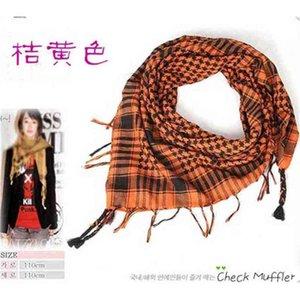 2021 Winter Autumn Fashion Grid Large Square Scarf Children's Grils Warm Plaids Scarves Neck Head Pashmina Lady Shawls And Wraps Bandana Tassel H911GJK8