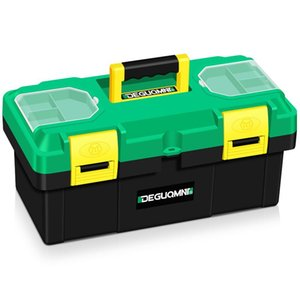 Tool Organizers Portable Small Box Fishing Electrician Storage Hard Case Waterproof Outdoor Caisse Outil Repair Container BS50TB