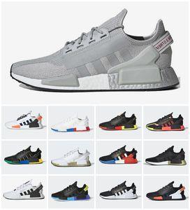 Deslumbramiento camo nmd r1 v2 masculinas zapatillas núcleos triple negro blanco mexico ciudad oreo og clásico aqua tonos hombres mujeres japon entrenador deportes zapatillas deportivas