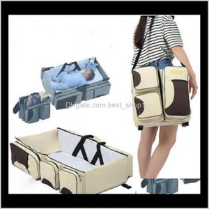 Boxes Bins Storage Housekeeping Organization Home Garden Drop Delivery 2021 Backpack Folding Diaper Bags Waterproof Nursing Bag Travel Nappy