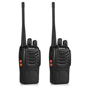 Walkie Talkie 2 Pcs Baofeng Bf-888s Portable Radio 888s Walkie-talkie 888 Comunicador Purse 10 Km Hunting Intercom Walk Talk
