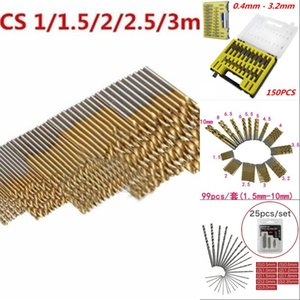 Twist Drill Set Small Rotating Bits Combination of High Speed Steel Bits Saw Set Titanium Coated Drill Wood Woodworking Tool2 702 K2