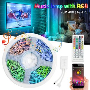 Music Lamp With RGB Strip Lights SMD Tape Light Waterproof Color Changing Bluetooth Pography Flash Heads