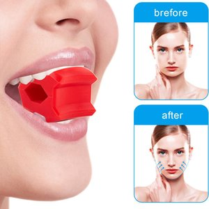 Food-grade Silicon Face Masseter Exerciser Facial Mouth JawLine Exercise Ball Training Jaw Fitness Balls jaws Trainer