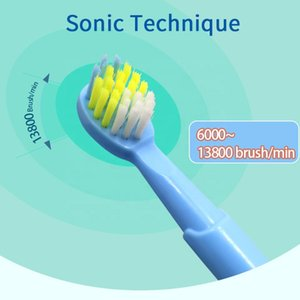 Kids Sonic Electric Toothbrush Oral Care USB Rechargeable Children Electronic Tooth Brush Soft Bristles