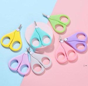 Детские ножницы для ногтей короткие детские ногти уборщики уборщики безопасности безопасности нержавеющей стали круглая головка ножница OWC7237