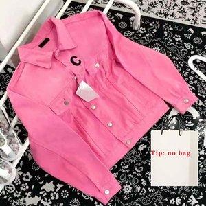 Fashion Designer Jacket Women Men Denim Jackets Coat Streetwear Women's Classic Lettered Lapel Buttons Comfy Men's Autumn Winter Size M-2XL