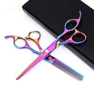 Japan 440c dressers Barber Shop Supplies Titanium Professional dressing Scissors for Cutting Hair