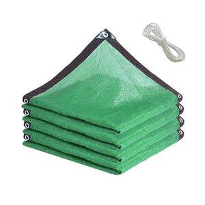 Shade Garden Sun Shading Net Summer Rain Cover Encryption Outdoor Thicken Brown Cloth Courtyard Pool Insulation