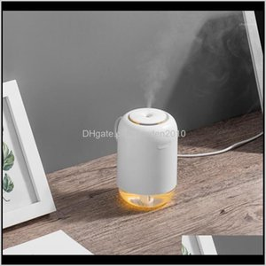 Oils Diffusers 200Ml Ultrasonic Air Humidifier Aroma Essential Oil Diffuser For Home Car Usb Rechargeable Fogger Mist Maker With Led N H8Xqe