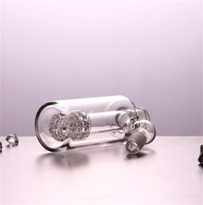 Glass Ash Catcher 14mm 18mm 4.5 Inch Mini Glass Bong Ash Catchers Thick Pyrex Clear Bubbler Ashcatcher 45 90 Degree 345 V2