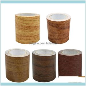 Wallpapers Décor Home & Gardenwood Tape Stickers Bathroom Kitchen Refurbishment Decorative Self Adhesive Crafts Furniture Repair Contact Pap