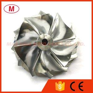 GT3582 451644-0005 63.50 82.00mm 6+6 blades Turbo Billet compressor wheel Aluminum 2618 Milling wheel for Racing Turbocharger Cartridge CHRA Core