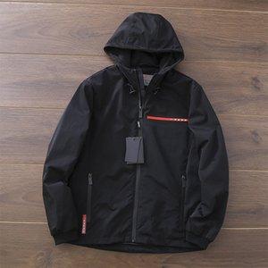 2021 Весна и осень мужская дышащая кожная одежда анти-ультрафиолетовая куртка легкий тонкий растягивающие пальто высокого качества роскошь