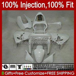 Injection mold Fairings For KAWASAKI NINJA ZX9 R ZX 9R 9 R 900 CC 98-99 Bodywork Kit 17No.15 ZX900 ZX9R 98 99 00 01 ZX-900 900CC ZX-9R 1998 1999 2000 2001 OEM Body white glossy