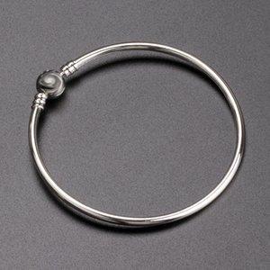النساء الفضة 3 ملليمتر الإسورة سوار مربع الأصلي ل باندورا 925 فضة سحر أساور الرجال هدية مجوهرات WJL0974