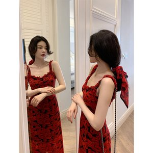 new short 2021 sleeve dress French Sling Dress Y2YP