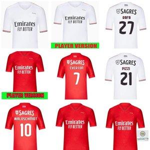 Fans + Player 2021 2022 Benfica Soccer Jerseys Retro Waldschmidt Seferovic Everton Pizzi Rafa Darwin Casa Away Camicie da calcio