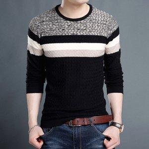 Sweaters Etixton 2021 Autumn Handsome Versatile Korean Young T-shirt Leisure Fashion Sweater Men's Wear
