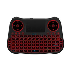 MT08 2.4G Air Mouse Remote Control Mini Keyboard Mouse Combos Rainbow Backlit For Windows PC Android TV BOX PS3 Computer