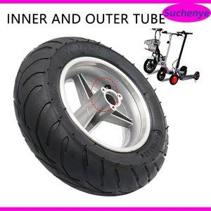 Motorrad-Räder Reifen 6,5 Zoll 110 / 50-6.5 Taschenrad-Hinterrad-Radreifen und Rand-Set Fit für 47cc 49cc 2Troke ATV Mini