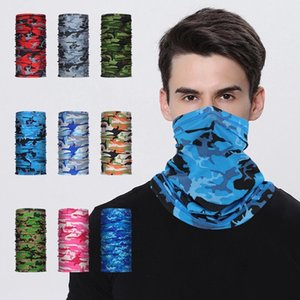 Cycling Sports Bandana Headband Bicycle Fishing Camping Hiking Scarves Outdoor Headscarves Riding Headwear Men Women Neck Tube Shield Face Mask Magic Scarf
