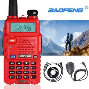 Walkie Talkie Baofeng UV-5R Professional CB Radio Station HF Transceiver 5W VHF UHF Dual-Band Two Way Comunicador UV5R