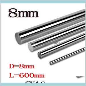Bearings Replacement Parts Industrial Supplies & Mro Office School Business Wholesale- 2Pcs Lot 8Mm L600Mm Linear Shaft Od X 600Mm Cyl