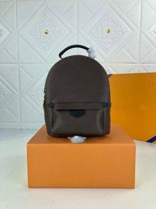 M44873-Mini backpack lady Genuine Leather designer Backpacks fashion back pack fow women handbags Presbyopic ,Mini shoulder Purse Cross body bag