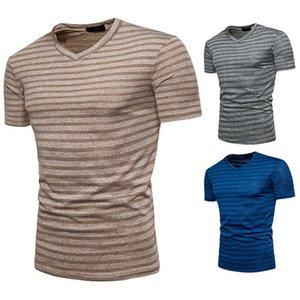Camiseta de la camiseta de manga corta de la moda de los hombres creativos de verano de verano Q04