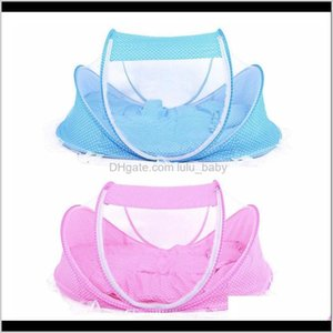 3Pcslot 036 Months Baby Bed Portable Foldable Crib With Netting Born Sleep Travel Mosquito Net Ding Lj200818 Mgzav Jgnpv