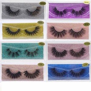 13 Styles Faux 3D Mink Eyelash Natural Soft Long False Eyelashes Thick Cross Fake Lashes Extension Makeup Tool for Beauty