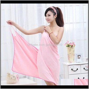 Textiles Garden Drop Delivery 2021 Home Textile Women Robes Bath Wearable Towel Dress Womens Lady Fast Drying Beach Spa Magical Nightwear Sle