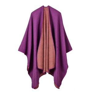Luxury Brand scarves shawls Women Imitation Cashmere Autumn Winter New Shawls Wraps High Quality Plain Pashmina 130*150c