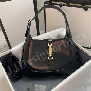 Top quality Real Leather Women's Cleo G Jackie 1961 Crossbody Bags Clutch brushed tote Handbag Luxury Designer men Shoulder Bag hobo Wallet Handbags Purses