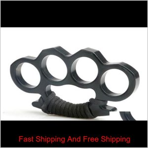 Protective Accessories Tactical Gear Brass Knuckle Dustersself Defense Personal Security Womens And Mens Selfdefense Pendant Drop Deli