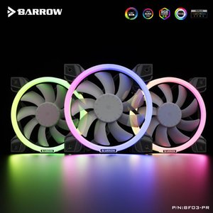 Fans & Coolings Barrow LRC2.0 (5v 6pin) Lighting PWM Fans, Water Cooling Cooler Hydraulic Bearings, Adjustable Ring Lighting,BF03-PR