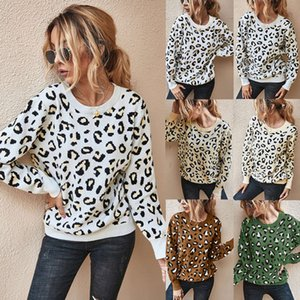 Designers Sweaters For Women Fashion Clothing New Autumn And Winter 2020 Top Fashion Leopard Sweater Print Warm